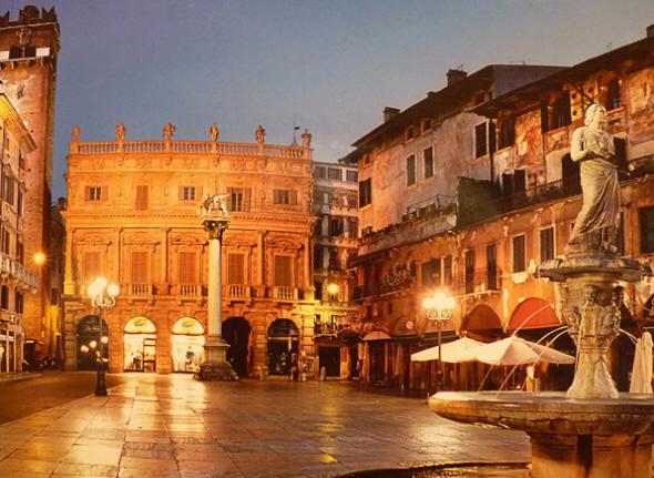 Piazza erbe Verona